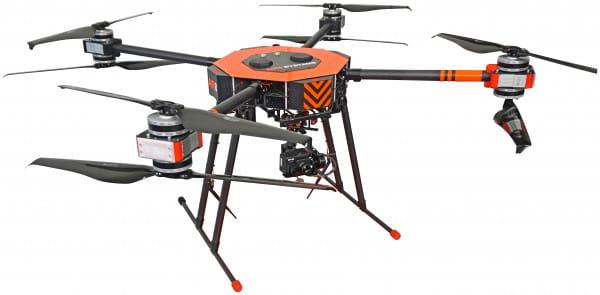 AIR 8 MEDIUM LIFTER / LiDAR Drohne