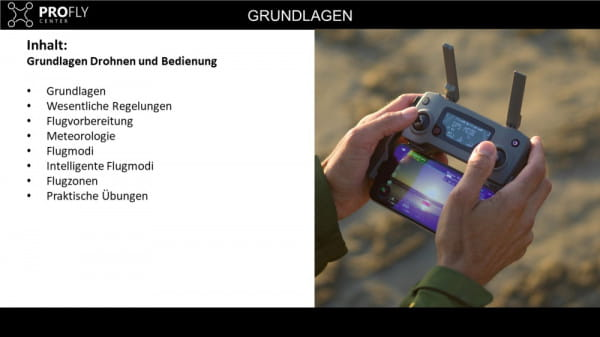 Online- Drohnen Grundlagenschulung